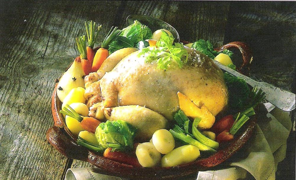Poulet fa on poule au pot miam cuisine - Cuisine poule au pot ...